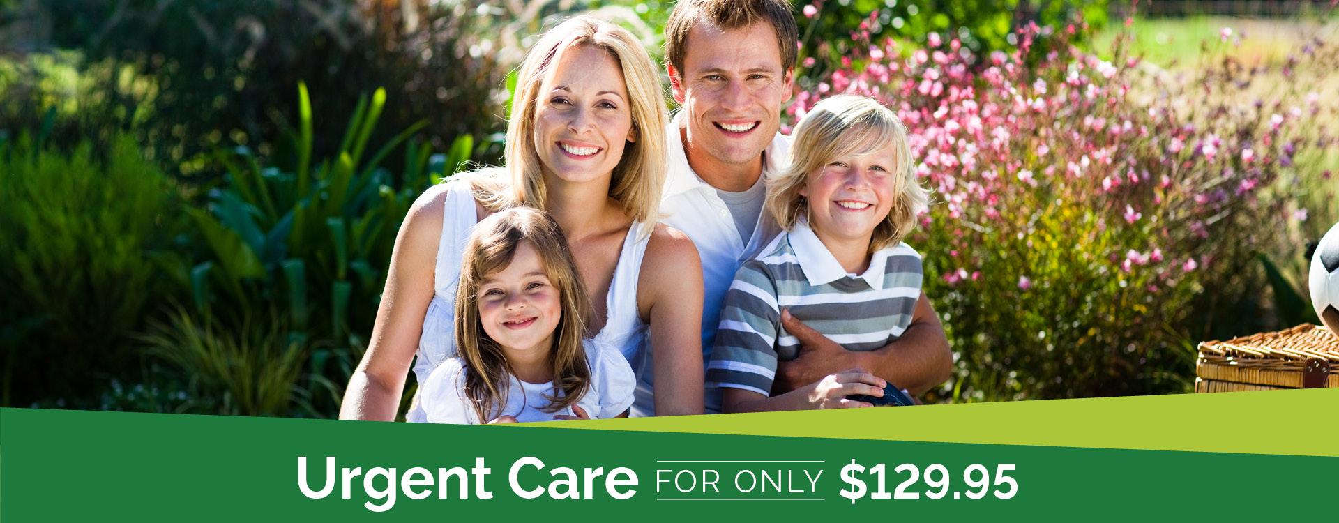 Albuquerque Urgent Care for $129.95